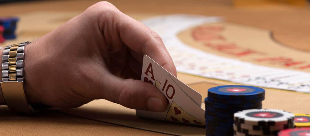 jugador contando cartas en el blackjack