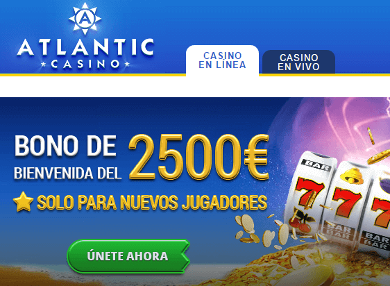 Atlantic Casino bonos