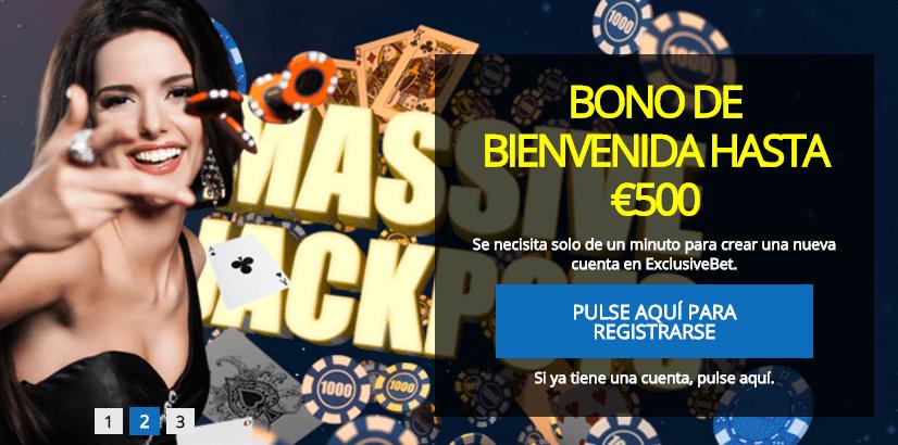 Exclusivebet Casino codigo promocional