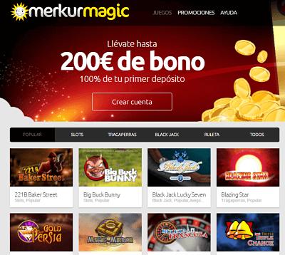 merkurmagic casino codigo promocional
