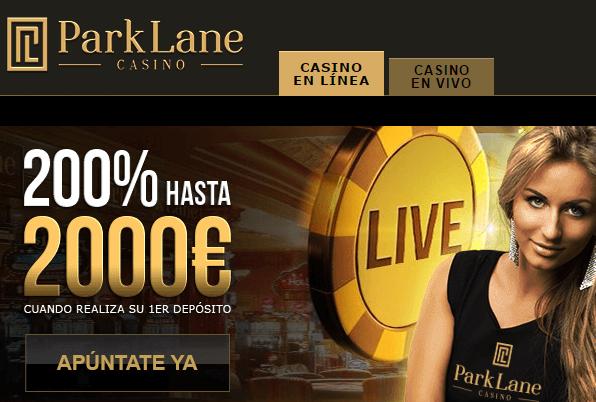 Parklane Casino codigo promcional