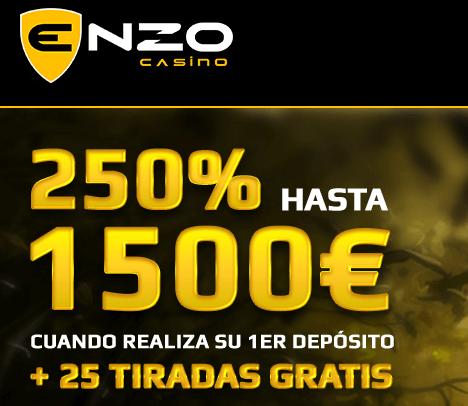 Enzo Casino codigo promocional