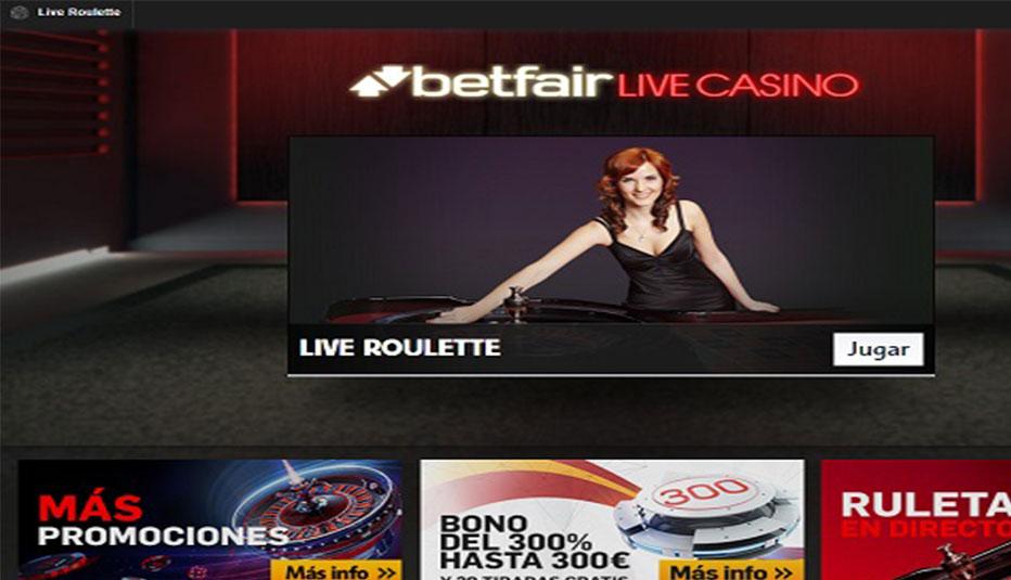 betfair casino juegos en vivo
