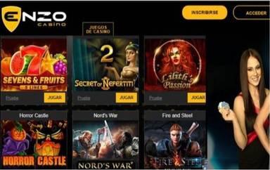 Giros gratis hasta por 100 euros Enzo Casino
